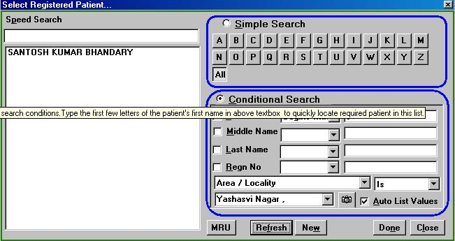 Providing Searchable Patient Information